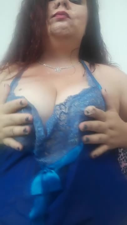 Playing with my boobs