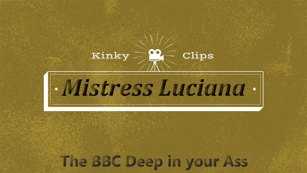 BBC Deep in your Ass