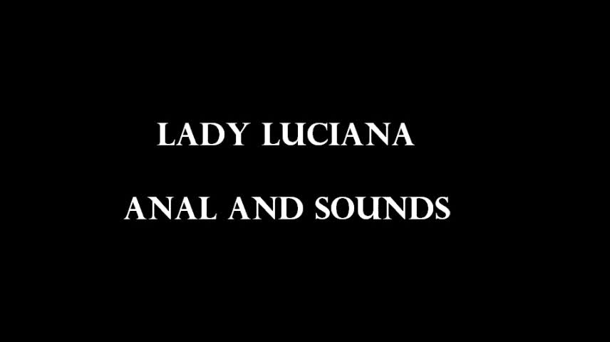 anal and sounds