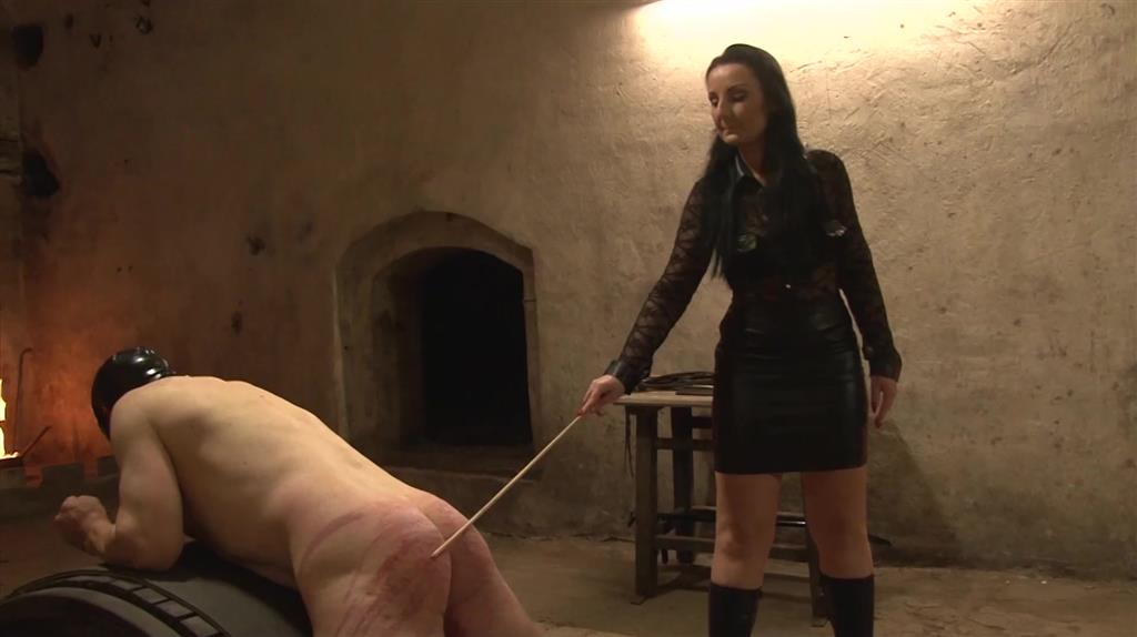 Hard Whipping and Caning