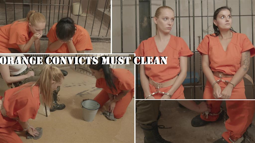 orange convicts must clean