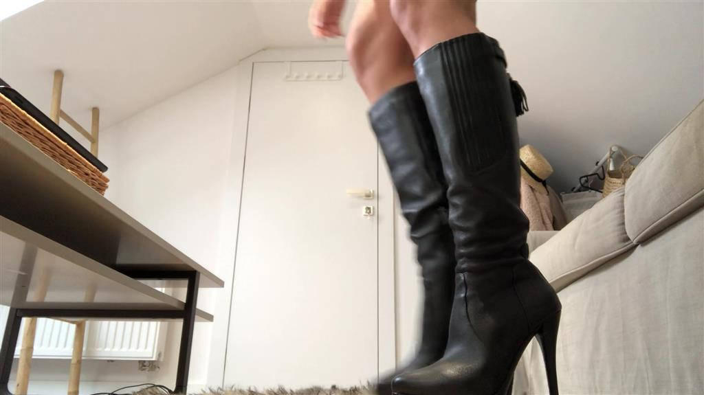 Stiefel leather boots