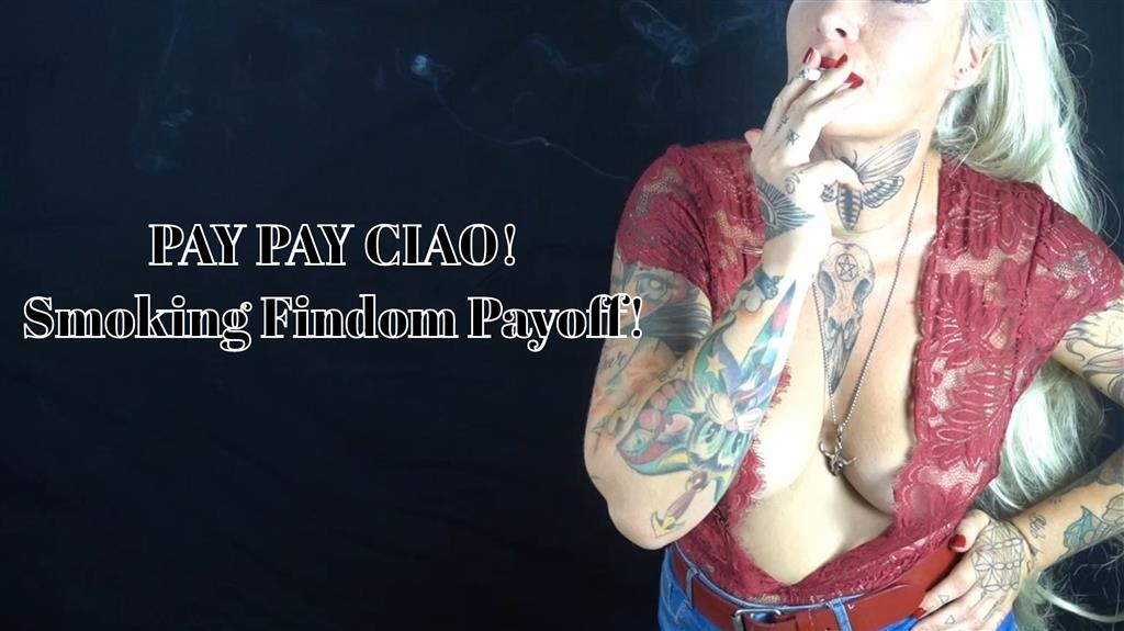 Pay Pay Ciao- english Findom Clip