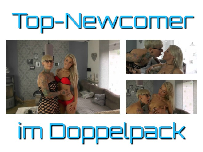 Top Newcomer im Lesbo Doppelpack