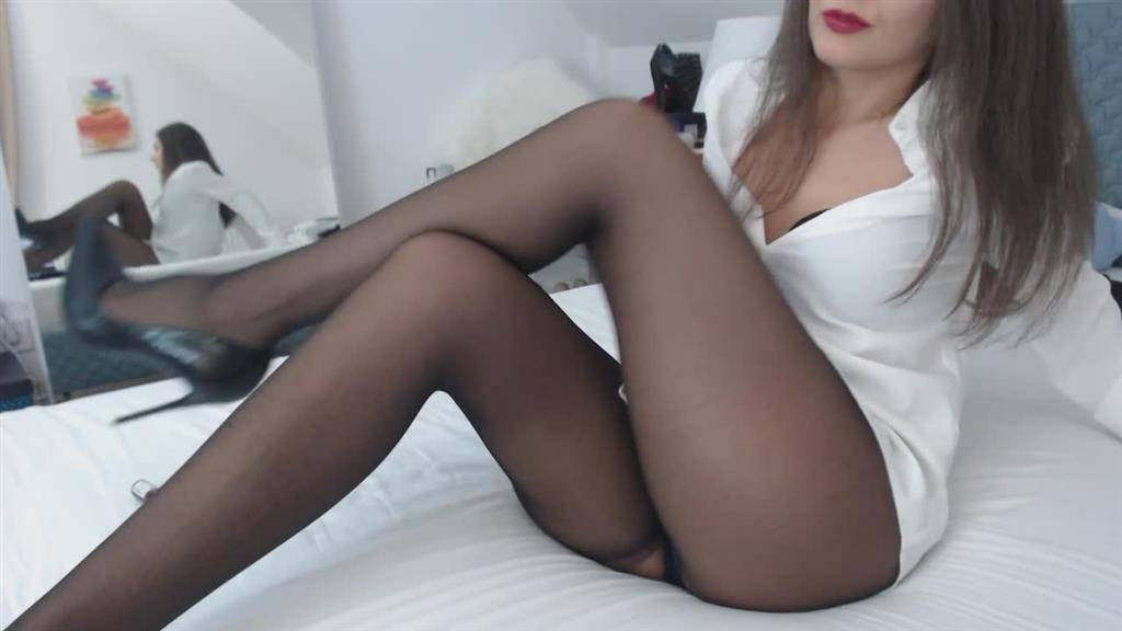 sounds of nylons when legs touching each other