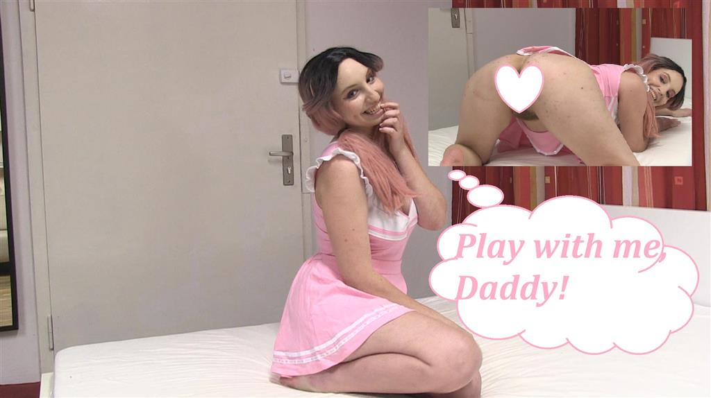 Play with me, Daddy!