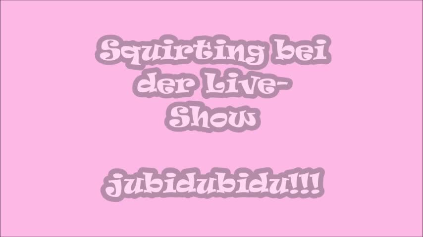 LIVE SQUIRTING